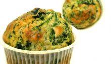 Muffins agli spinaci