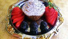 Muffin alle mandorle senza la farina