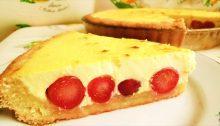 Cheesecake di ciliege