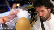 Davide Scabin vs Carlo Cracco per la declinazione dell'uovo