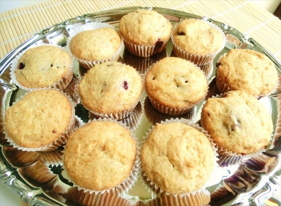 muffin-con-ripieno-alle-more-senza
