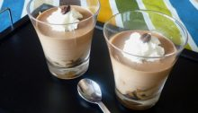 Mousse caffè e cioccolato
